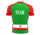 Iran  Full Zipper Bike Short Sleeve Cycling Jersey