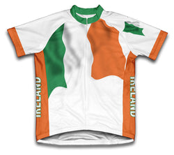 Ireland Flag Cycling Jersey for Men and Women