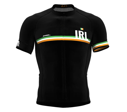 Ireland Black CODE Short Sleeve Cycling PRO Jersey for Men and WomenIreland Black CODE Short Sleeve Cycling PRO Jersey for Men and Women