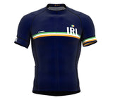 Ireland Blue CODE Short Sleeve Cycling PRO Jersey for Men and WomenIreland Blue CODE Short Sleeve Cycling PRO Jersey for Men and Women