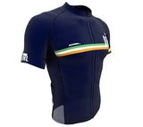 Ireland Blue CODE Short Sleeve Cycling PRO Jersey for Men and Women