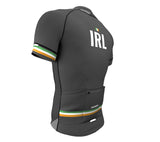 Ireland Gray CODE Short Sleeve Cycling PRO Jersey for Men and Women