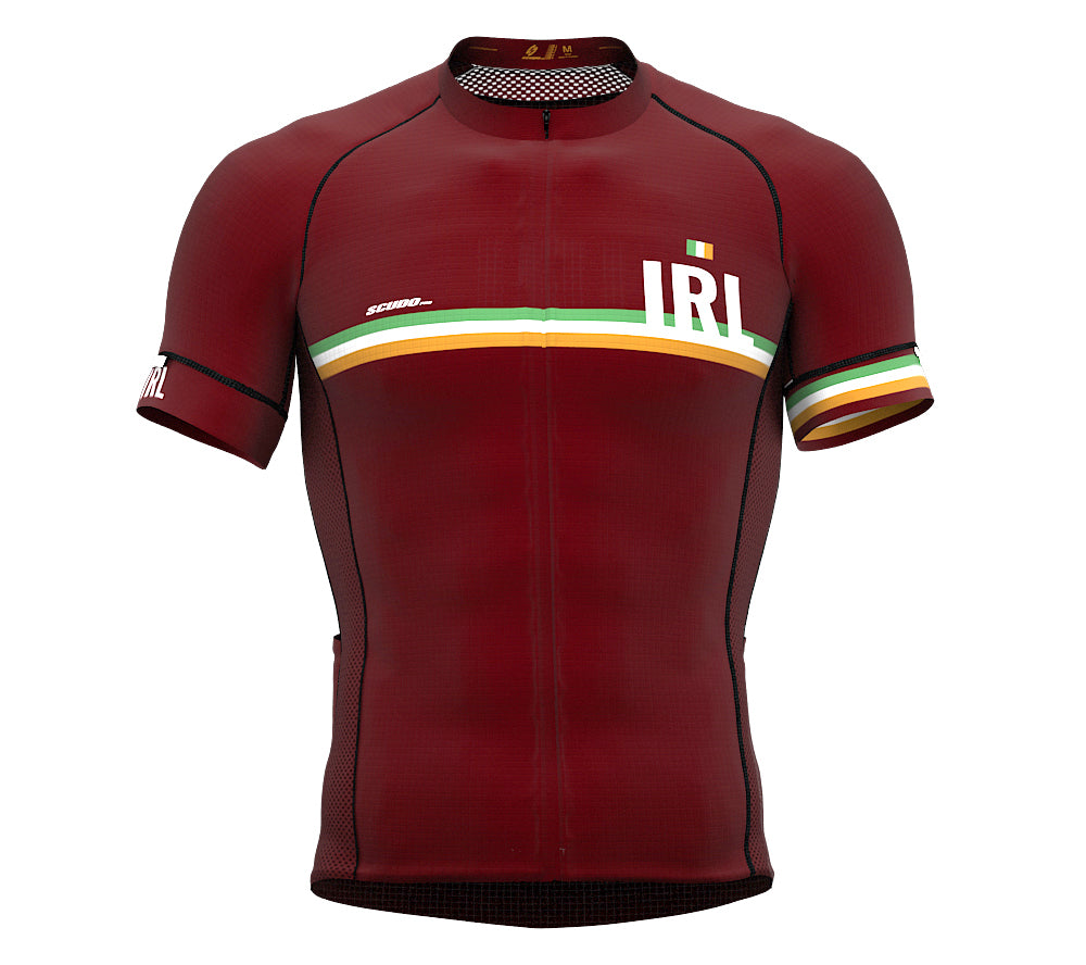 Ireland Vine CODE Short Sleeve Cycling PRO Jersey for Men and WomenIreland Vine CODE Short Sleeve Cycling PRO Jersey for Men and Women