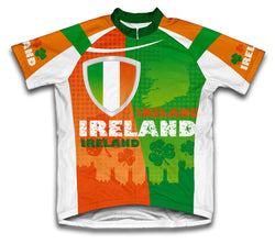 Ireland Short Sleeve Cycling Jersey for Men and Women