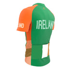 Ireland  Full Zipper Bike Short Sleeve Cycling Jersey