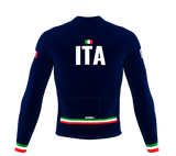ScudoPro Pro Thermal Long Sleeve Cycling Jersey Country CODE Italy | Men and Women