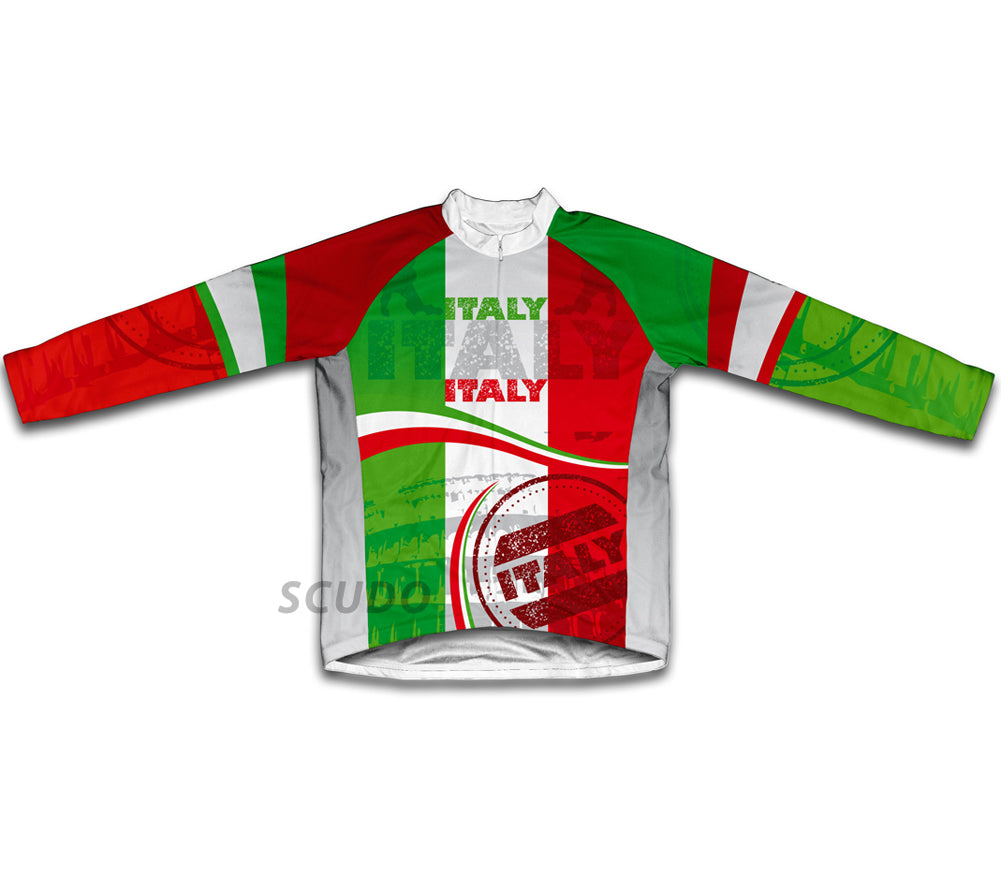 Italy Winter Thermal Cycling Jersey