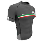 Italy Gray CODE Short Sleeve Cycling PRO Jersey for Men and Women