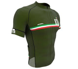 Italy Green CODE Short Sleeve Cycling PRO Jersey for Men and Women