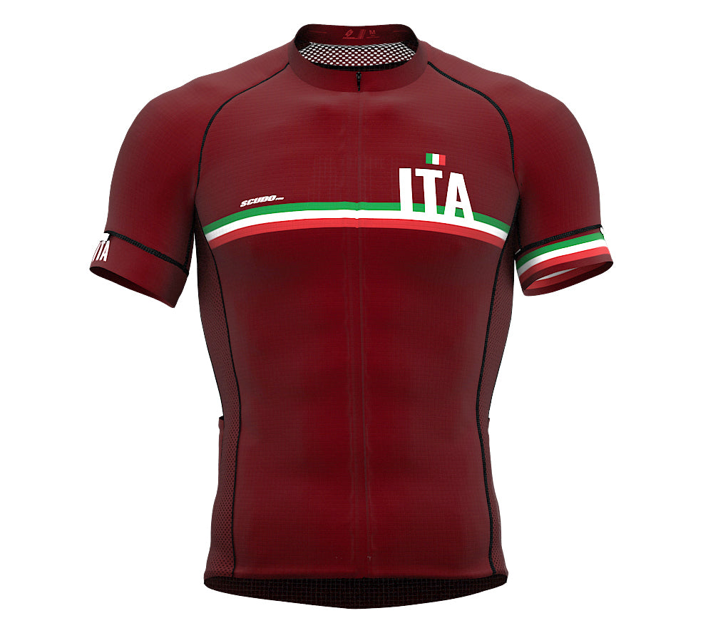 Italy Vine CODE Short Sleeve Cycling PRO Jersey for Men and WomenItaly Vine CODE Short Sleeve Cycling PRO Jersey for Men and Women
