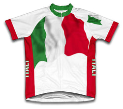 Italy Flag Cycling Jersey for Men and Women