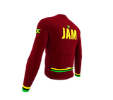 ScudoPro Pro Thermal Long Sleeve Cycling Jersey Country CODE Jamaica | Men and Women