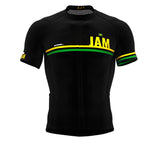 Jamaica Black CODE Short Sleeve Cycling PRO Jersey for Men and WomenJamaica Black CODE Short Sleeve Cycling PRO Jersey for Men and Women