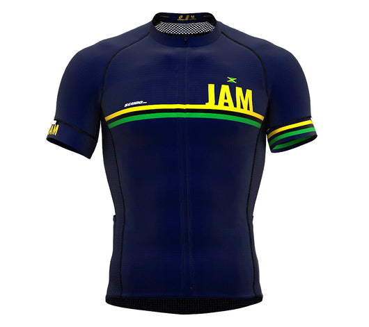 Jamaica Blue CODE Short Sleeve Cycling PRO Jersey for Men and WomenJamaica Blue CODE Short Sleeve Cycling PRO Jersey for Men and Women