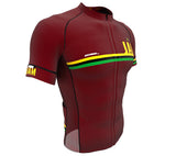 Jamaica Vine CODE Short Sleeve Cycling PRO Jersey for Men and Women