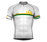 Jamaica White CODE Short Sleeve Cycling PRO Jersey for Men and WomenJamaica White CODE Short Sleeve Cycling PRO Jersey for Men and Women