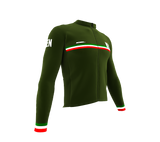 ScudoPro Pro Thermal Long Sleeve Cycling Jersey Country CODE Kenya | Men and Women