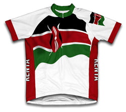 Kenya Flag Cycling Jersey for Men and Women