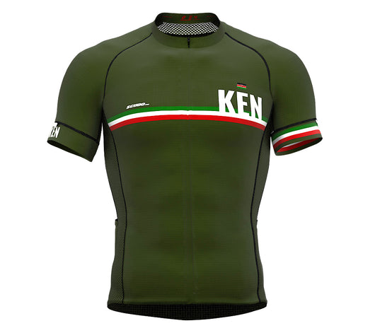 Kenya Green CODE Short Sleeve Cycling PRO Jersey for Men and WomenKenya Green CODE Short Sleeve Cycling PRO Jersey for Men and Women