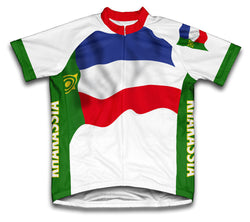 Khakassia Flag Cycling Jersey for Men and Women
