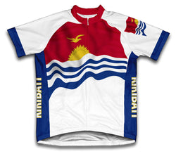 Kiribati Flag Cycling Jersey for Men and Women