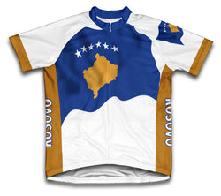 Kosovo Flag Cycling Jersey for Men and Women