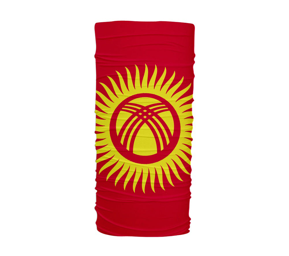 Kyrgyzstan Flag Multifunctional UV Protection Headband
