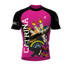 La Catrina Cycling Jersey Short Sleeve for Men and Women