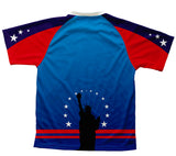 Lady Liberty Technical T-Shirt for Men and Women