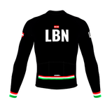 ScudoPro Pro Thermal Long Sleeve Cycling Jersey Country CODE Lebanon | Men and Women