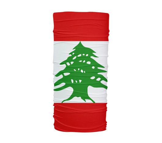 Lebanon Flag Multifunctional UV Protection Headband