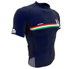 Lebanon Blue CODE Short Sleeve Cycling PRO Jersey for Men and Women