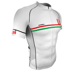 Lebanon White CODE Short Sleeve Cycling PRO Jersey for Men and Women