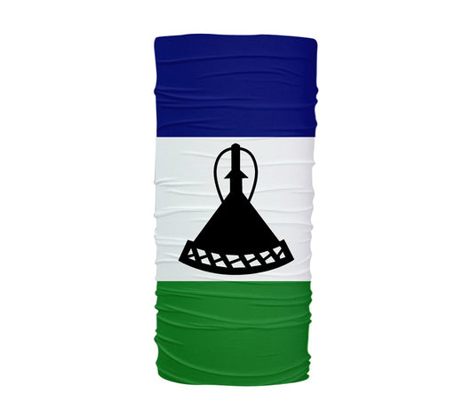 Lesotho Flag Multifunctional UV Protection Headband