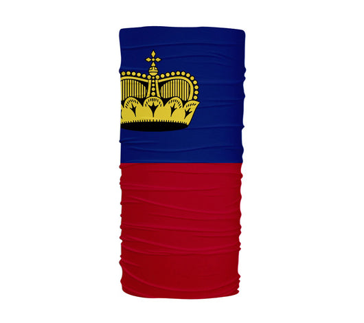 Liechtenstein Flag Multifunctional UV Protection Headband