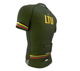 Lithuania Green CODE Short Sleeve Cycling PRO Jersey for Men and Women