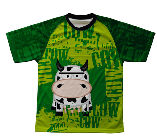 Little Cow Technical T-Shirt for Men and Women