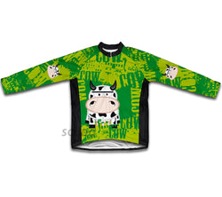 Little Cow Winter Thermal Cycling Jersey