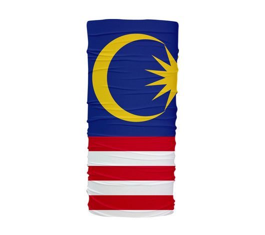 Malaysia Flag Multifunctional UV Protection Headband