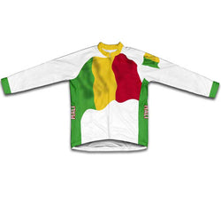 Mali Flag Winter Thermal Cycling Jersey