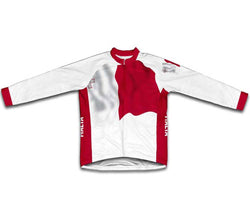 Malta Flag Winter Thermal Cycling Jersey