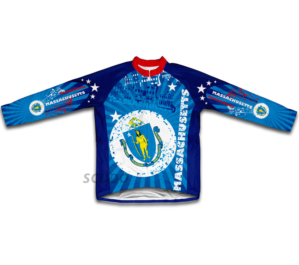 Massachusetts Winter Thermal Cycling Jersey