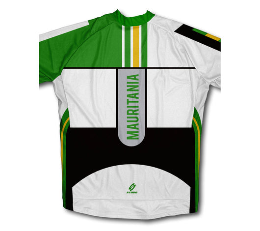 Mauritania ScudoPro Short Sleeve Cycling Jersey Cycling Jersey for ... ab3bc6742
