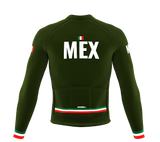 ScudoPro Pro Thermal Long Sleeve Cycling Jersey Country CODE Mexico | Men and Women