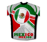 Mexico Flag Winter Thermal Cycling Jersey