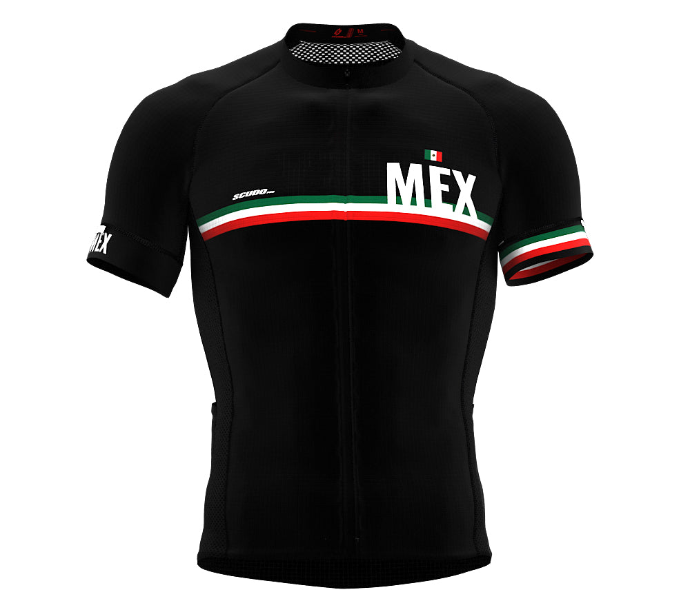 Mexico Black CODE Short Sleeve Cycling PRO Jersey for Men and WomenMexico Black CODE Short Sleeve Cycling PRO Jersey for Men and Women
