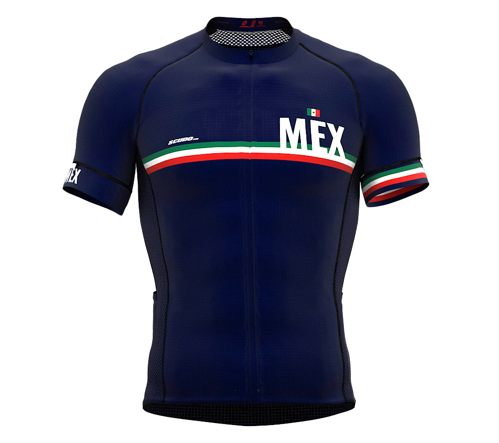 Mexico Blue CODE Short Sleeve Cycling PRO Jersey for Men and WomenMexico Blue CODE Short Sleeve Cycling PRO Jersey for Men and Women