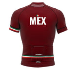 Mexico Vine CODE Short Sleeve Cycling PRO Jersey for Men and Women