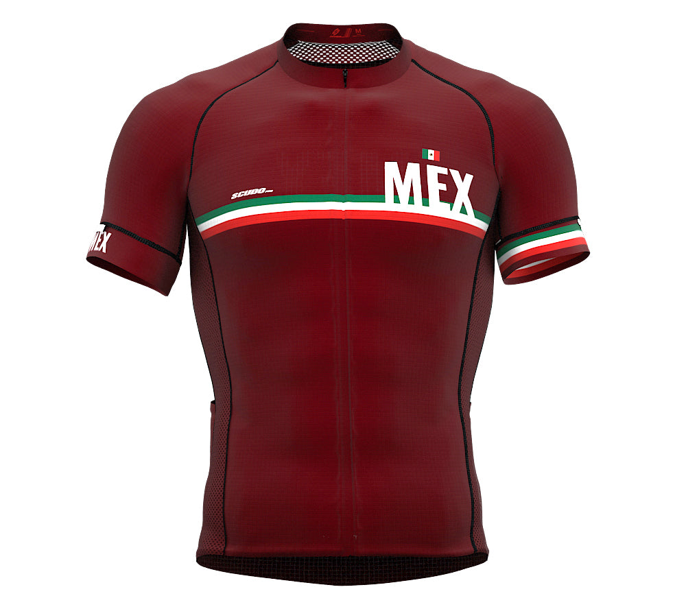 Mexico Vine CODE Short Sleeve Cycling PRO Jersey for Men and WomenMexico Vine CODE Short Sleeve Cycling PRO Jersey for Men and Women