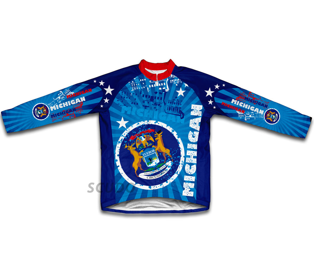 Michigan Winter Thermal Cycling Jersey